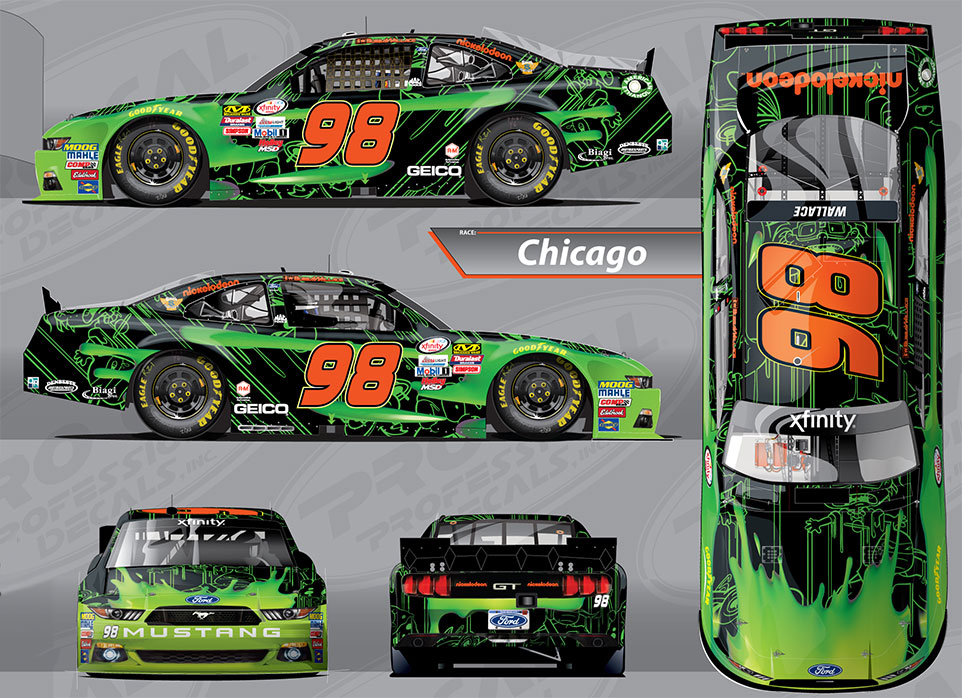 No. 98 Nickelodeon Slime Ford